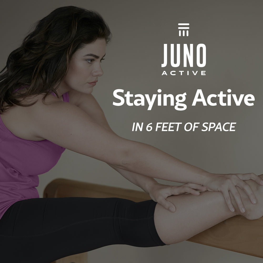 JunoActive 6x6 workout video hamstring stretch
