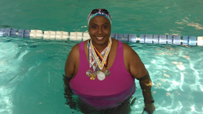 #ThisIsActive Interview with Inspiring Plus Size Triathlete Olivette Oliver