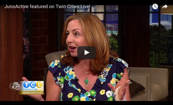 JunoActive featured on Twin Cities Live!