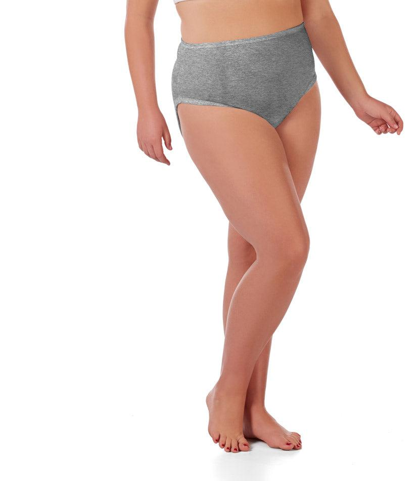plus size underwear black