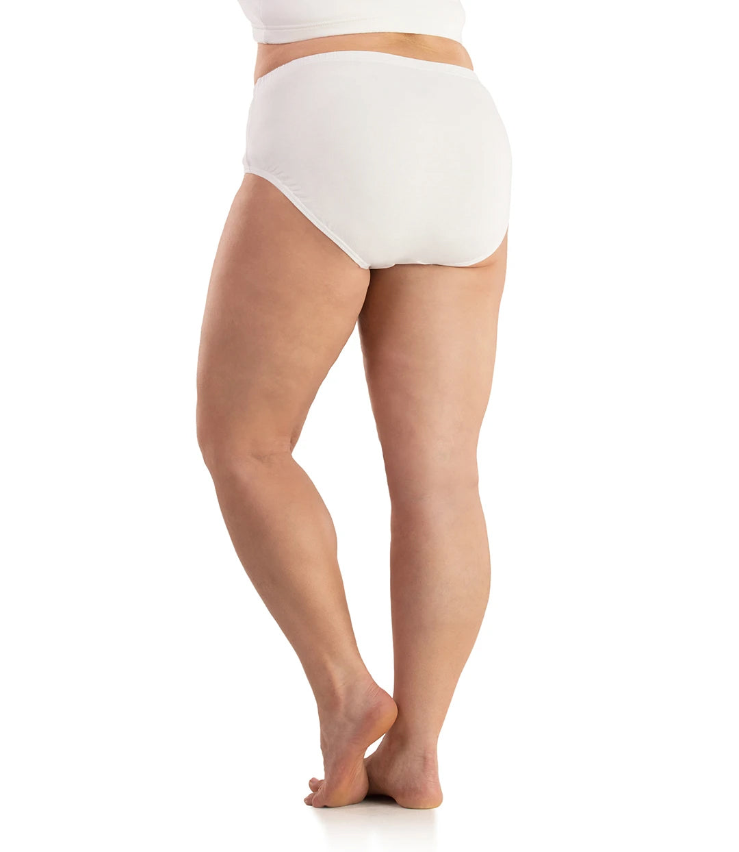 SupraKnit Briefs-Intimates Briefs-Osheka, Inc-XL-White-JunoActive