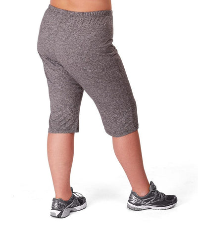 plus size activewear yoga capri pant
