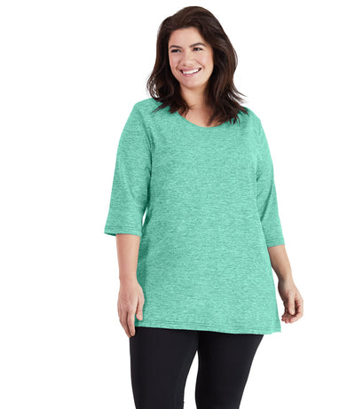 SoftWik® Womens V-Neck Tunic - JunoActive