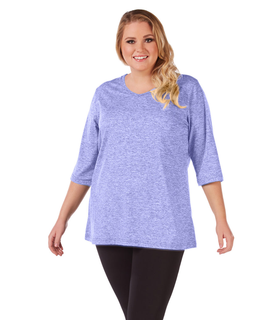 989f2047576 Plus Size activewear tunic top