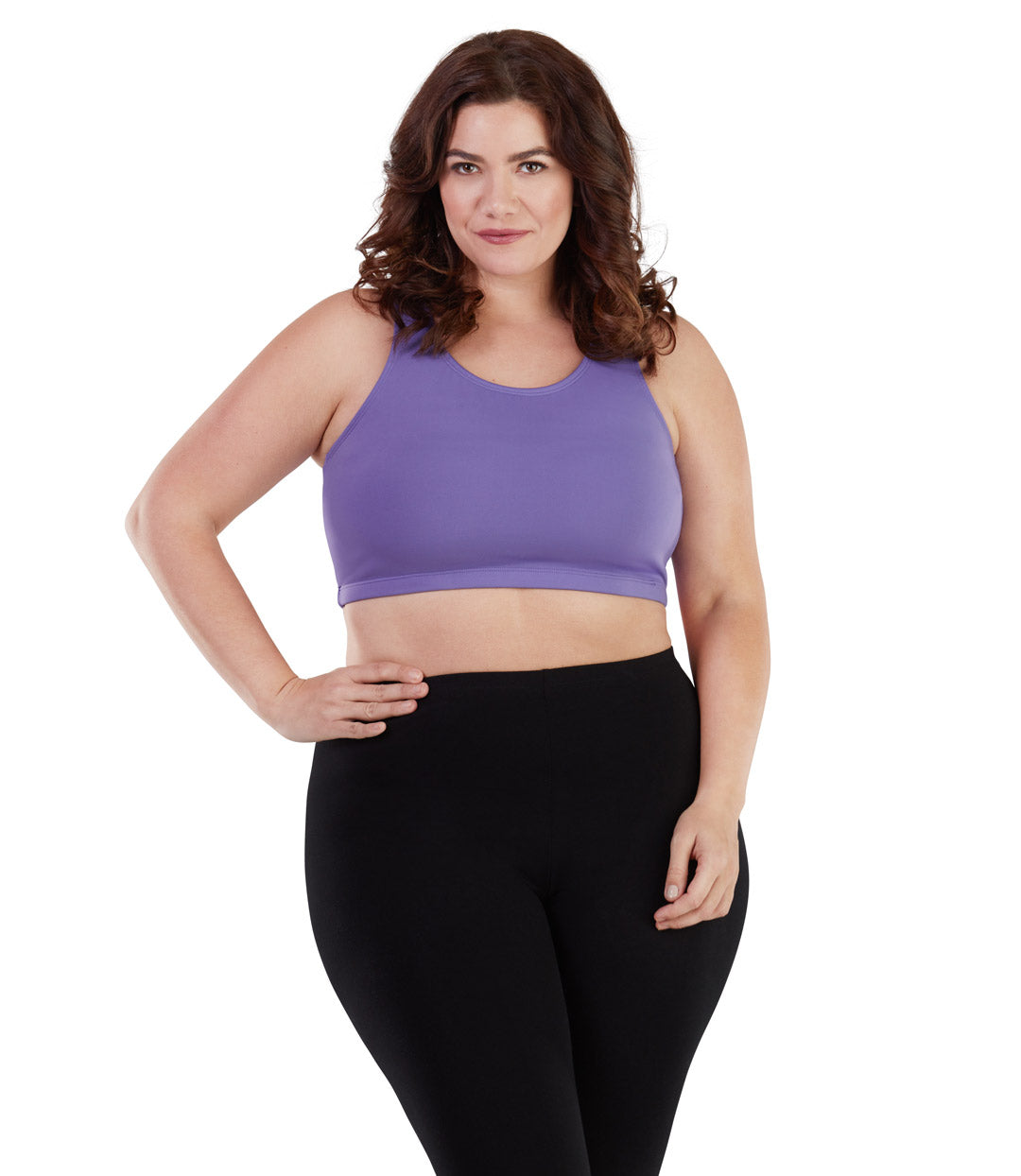 Women's plus size sports bra