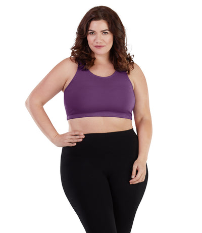 Women's plus size yoga sports bra