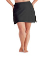 QuikWik® Dual Layer Skirt-Shop By Size-Osheka, Inc-XL-Black-JunoActive
