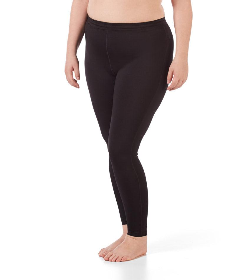 Women's plus size activewear legging black