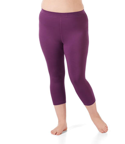 Women's plus size yoga legging capri