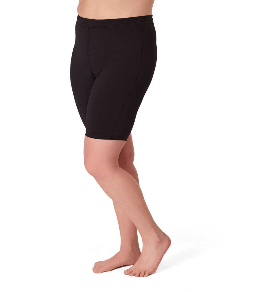 Women's Plus size activewear spandex shorts
