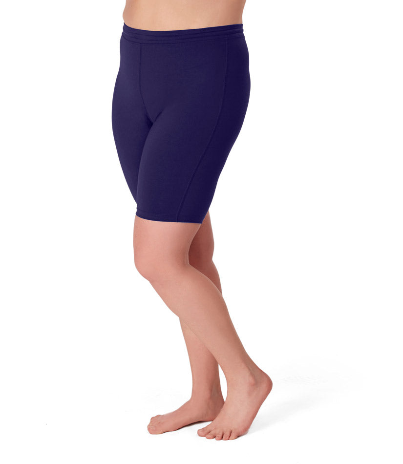 Plus size activewear spandex shorts