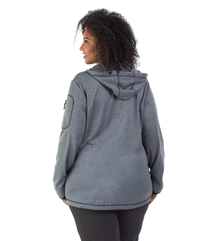 SoftSport™ 240 Fleece Pullover Plus Size Hoodie - JunoActive