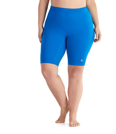 AquaCurve™ Short in Long Bay Blue - JunoActive