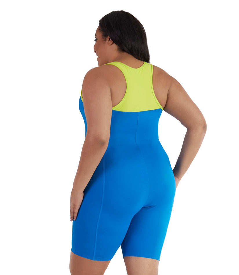 plus size one piece swimsuit aquatard