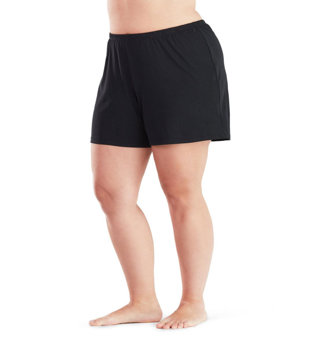 fc2c1ca7934 plus size swimwear short black