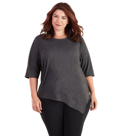 Plus Size activewear yoga top for women