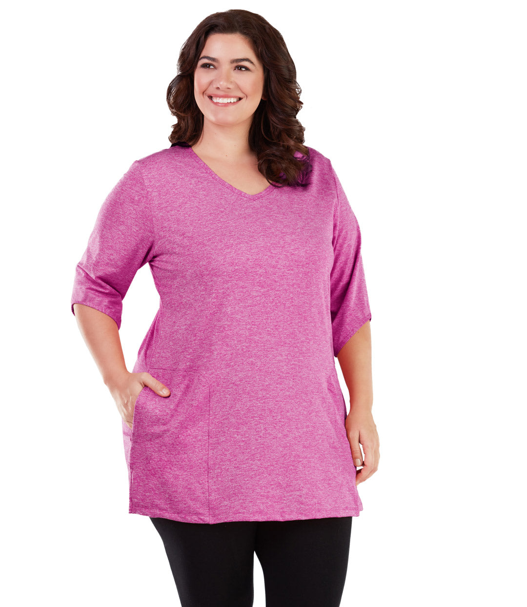84a4b85fd63 plus size tunic with pockets