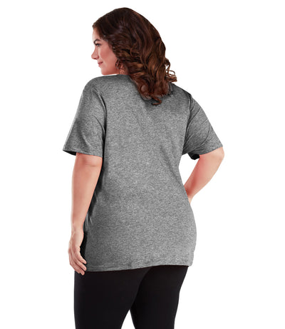 plus size pocketed top