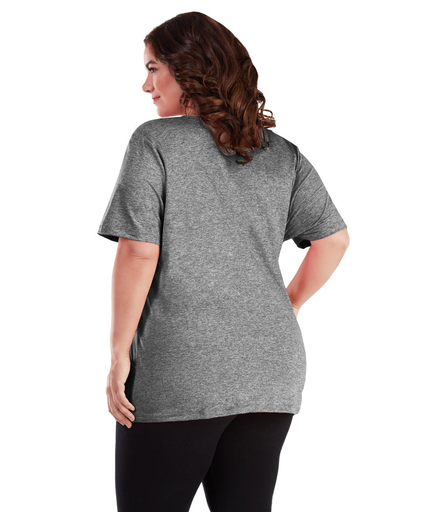 SoftWik® Slash Pocket Tee - JunoActive