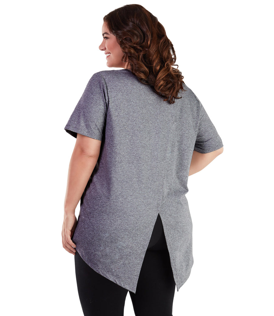 SoftWik® Split Back Top - JunoActive