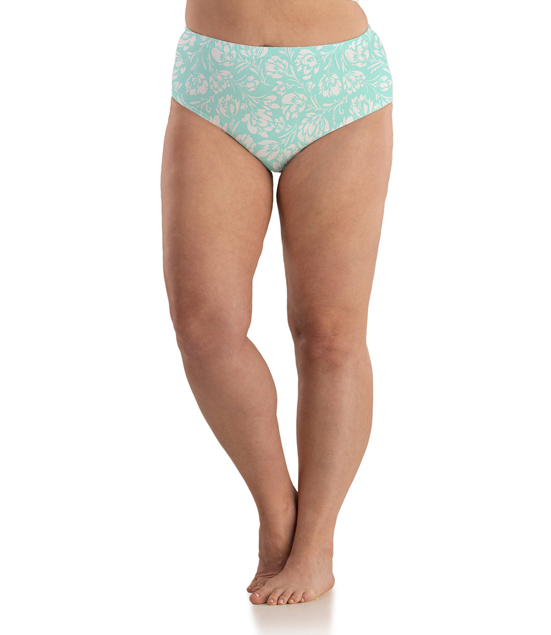 Junowear Cotton Stretch Classic Brief Spring Blue Floral Print-Intimates Briefs-Hop Wo Trading Co Ltd-XL-Spring Blue Floral-JunoActive