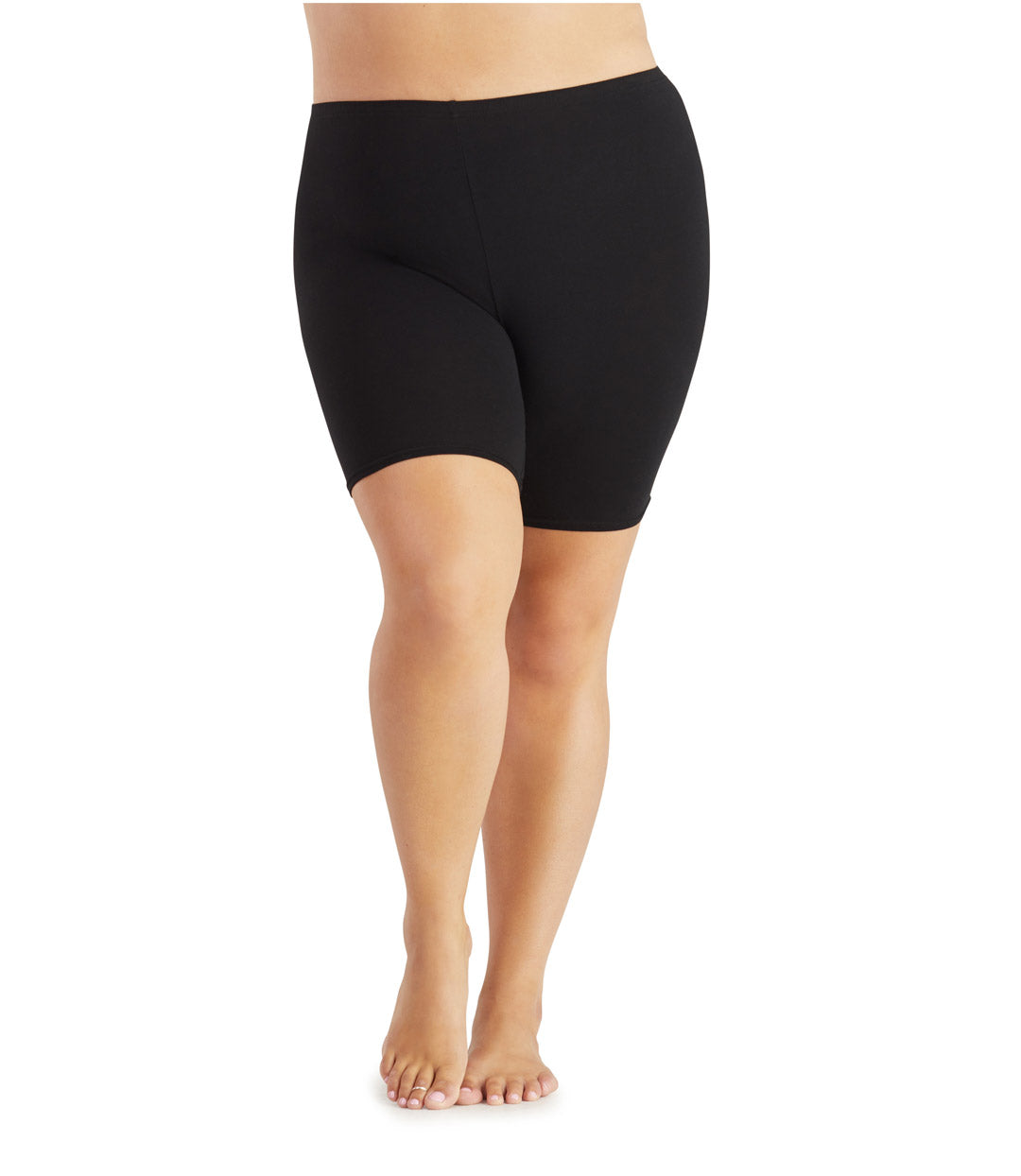 Junowear Cotton Stretch Fitted Boxer-Plus Size Underwear & Intimates-Hop Wo Trading Co Ltd-1X-Grey-JunoActive