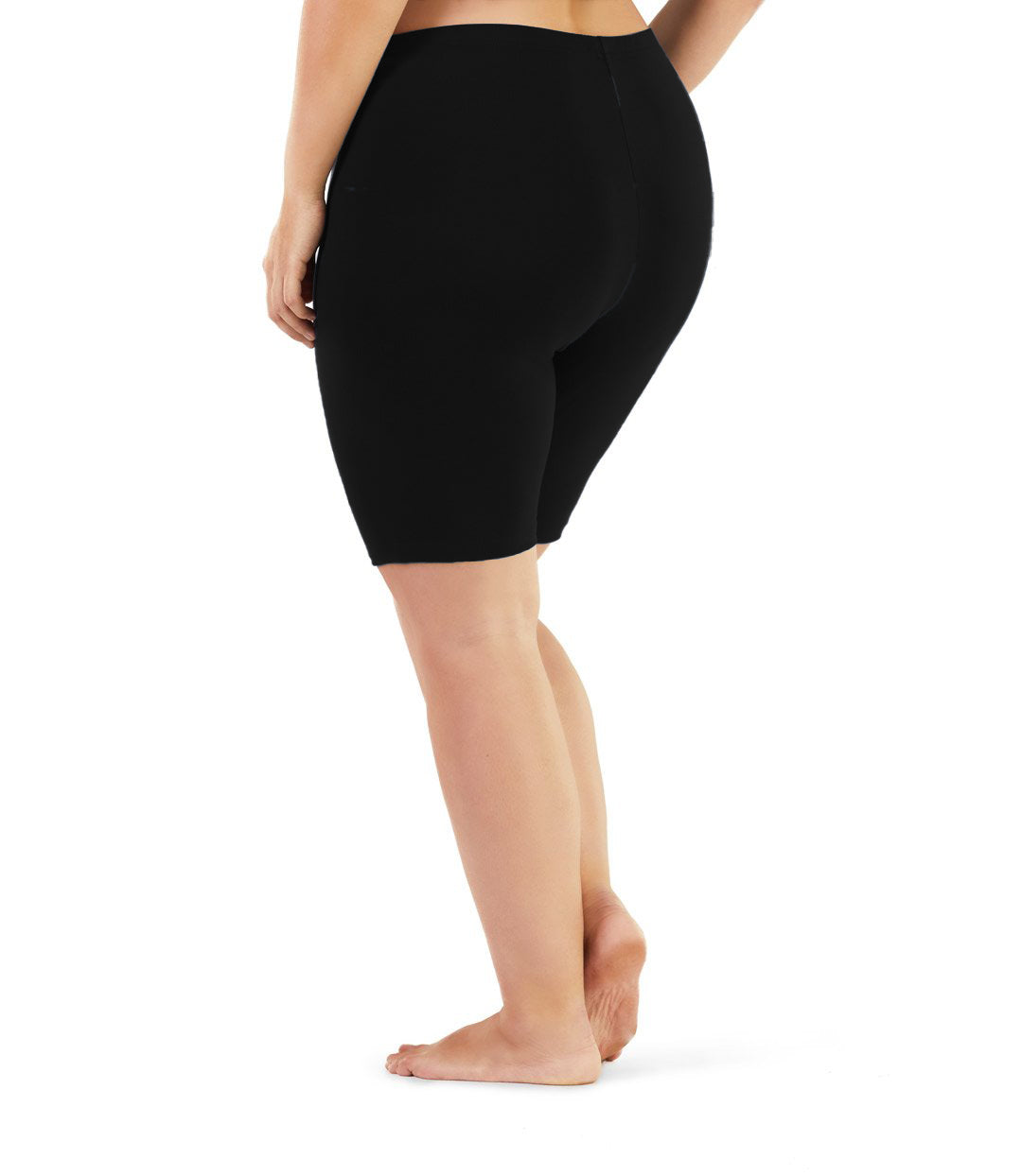 Stretch Naturals Bike Shorts-Bottoms Shorts-Hop Wo Trading Co Ltd-XL-Black-JunoActive