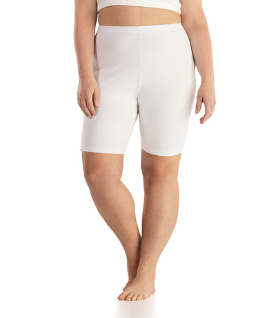 Stretch Naturals Bike Shorts-Shop by Activity-Hop Wo Trading Co Ltd-XL-White-JunoActive