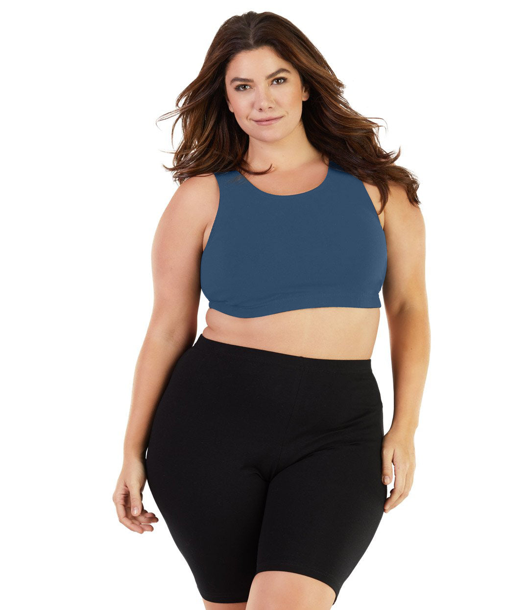 Stretch Naturals Crossback Bra Top Classic Colors