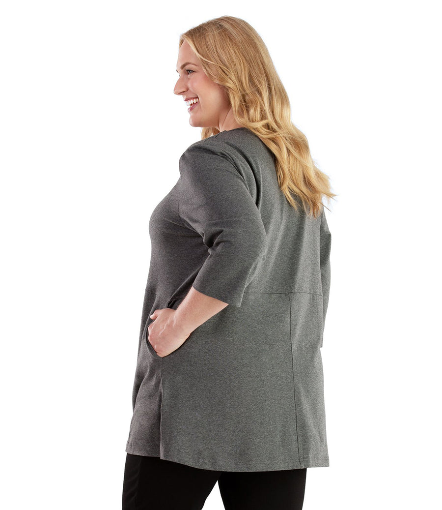 Stretch Naturals Empire Tunic with Pockets
