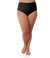 Junowear Hush Briefs-Plus Size Underwear & Intimates-Hop Wo Trading Co Ltd-1X-BLACK-JunoActive