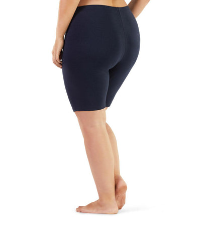 plus size athletic shorts black