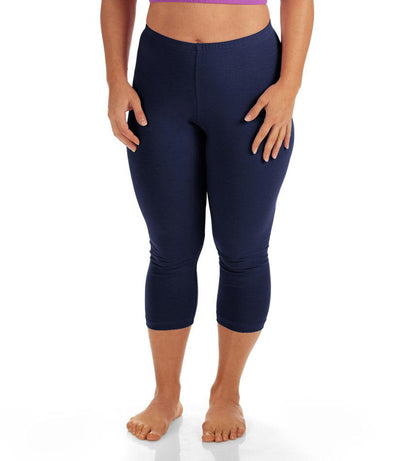 plus size leggings Capri