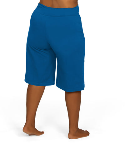 plus size cotton shorts