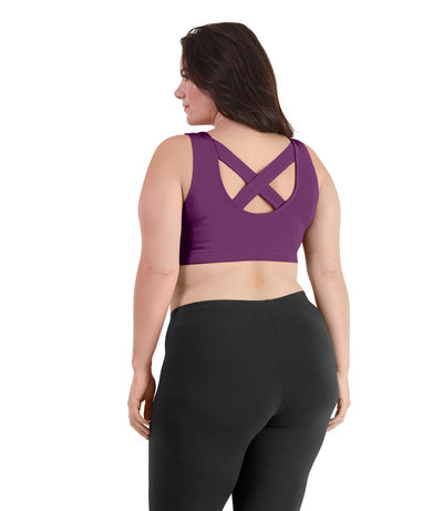 Stretch Naturals Crossback Sports Bra - JunoActive