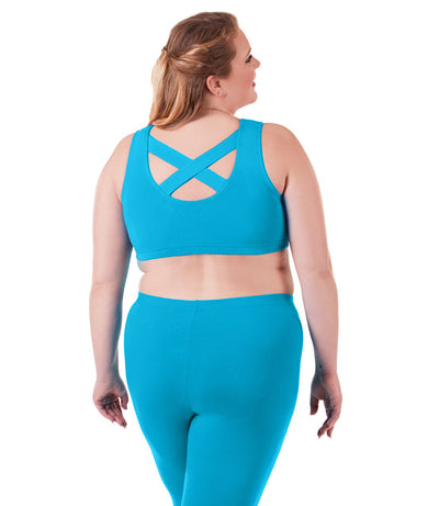 Plus size sports bras cotton