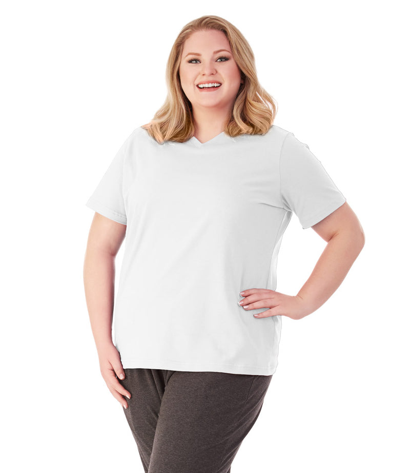 plus size activewear yoga top