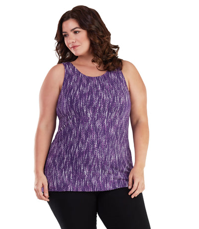Plus size tank tops long