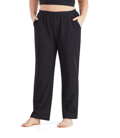 plus size yoga pant with pockets