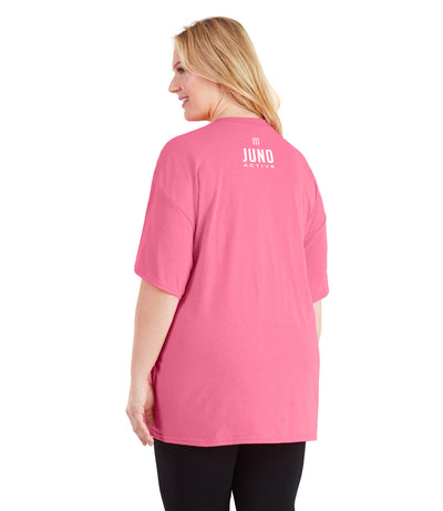 women's plus size workout clothes tee