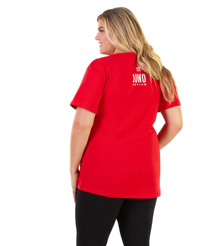 plus size activewear tee
