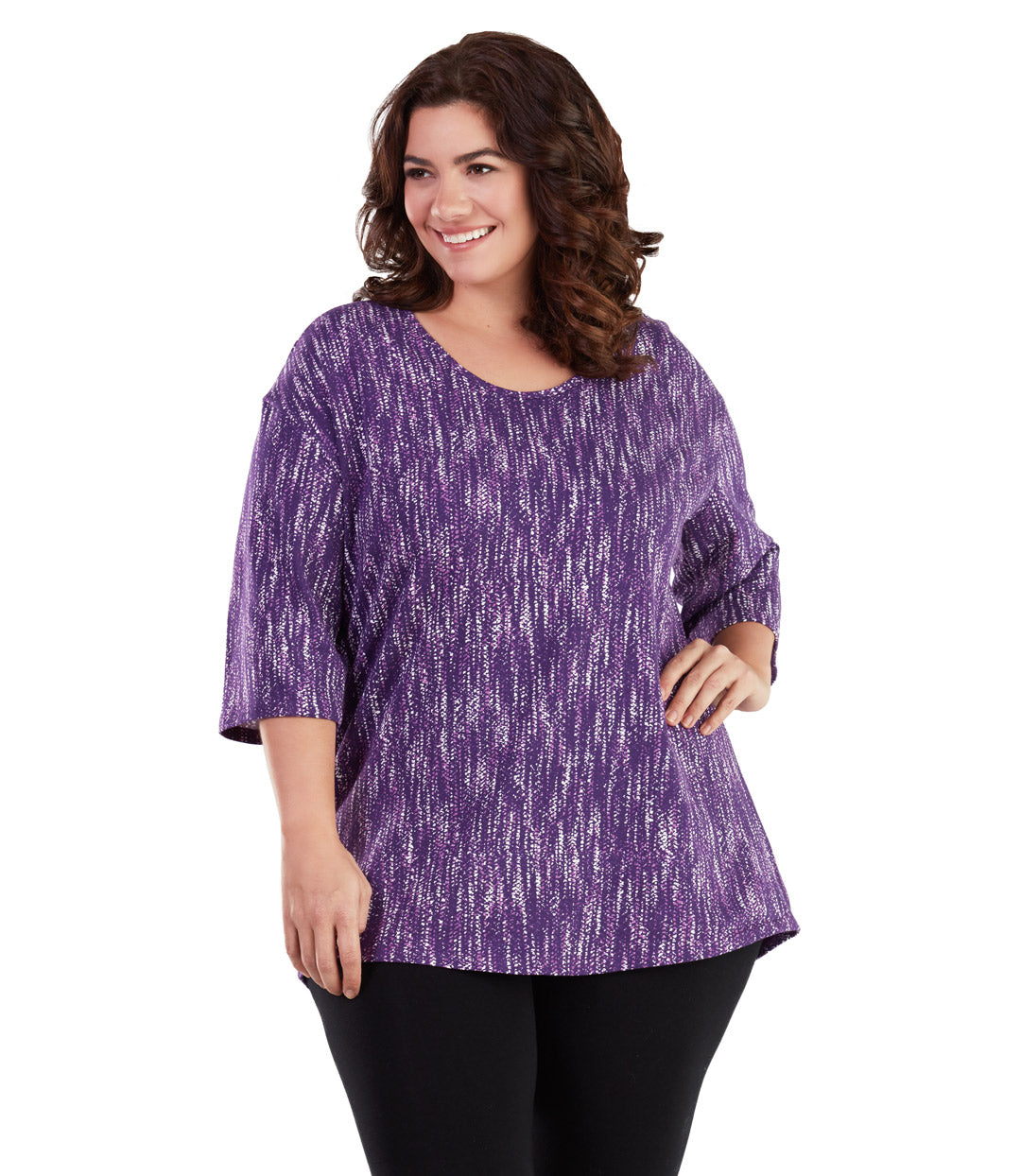 c00052ed09 Stretch Naturals 3 4 Sleeve Tunic