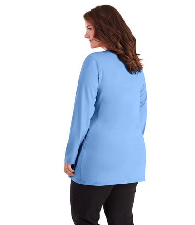 plus size vneck top