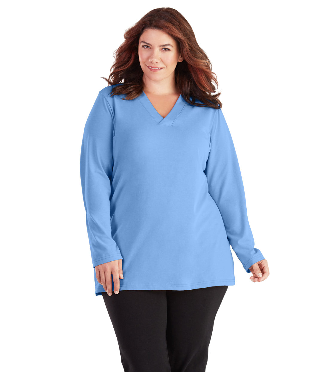 plus size long sleeve yoga top
