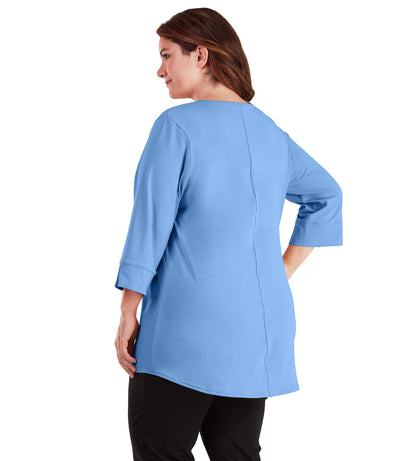 plus size yoga tunics for leggings