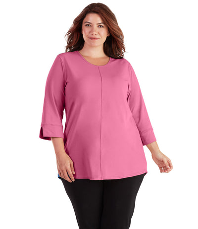 plus size activewear tunic