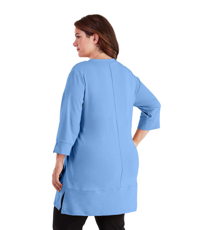plus size yoga top tunic