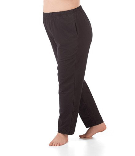 plus size pant black