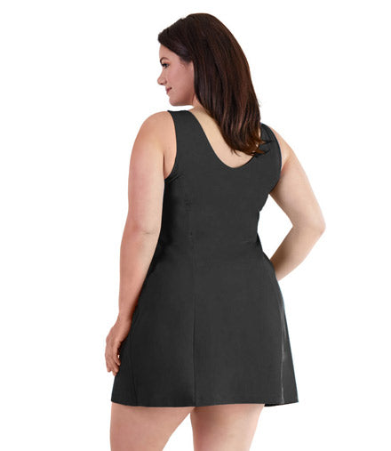 AquaCurve Swim Dress