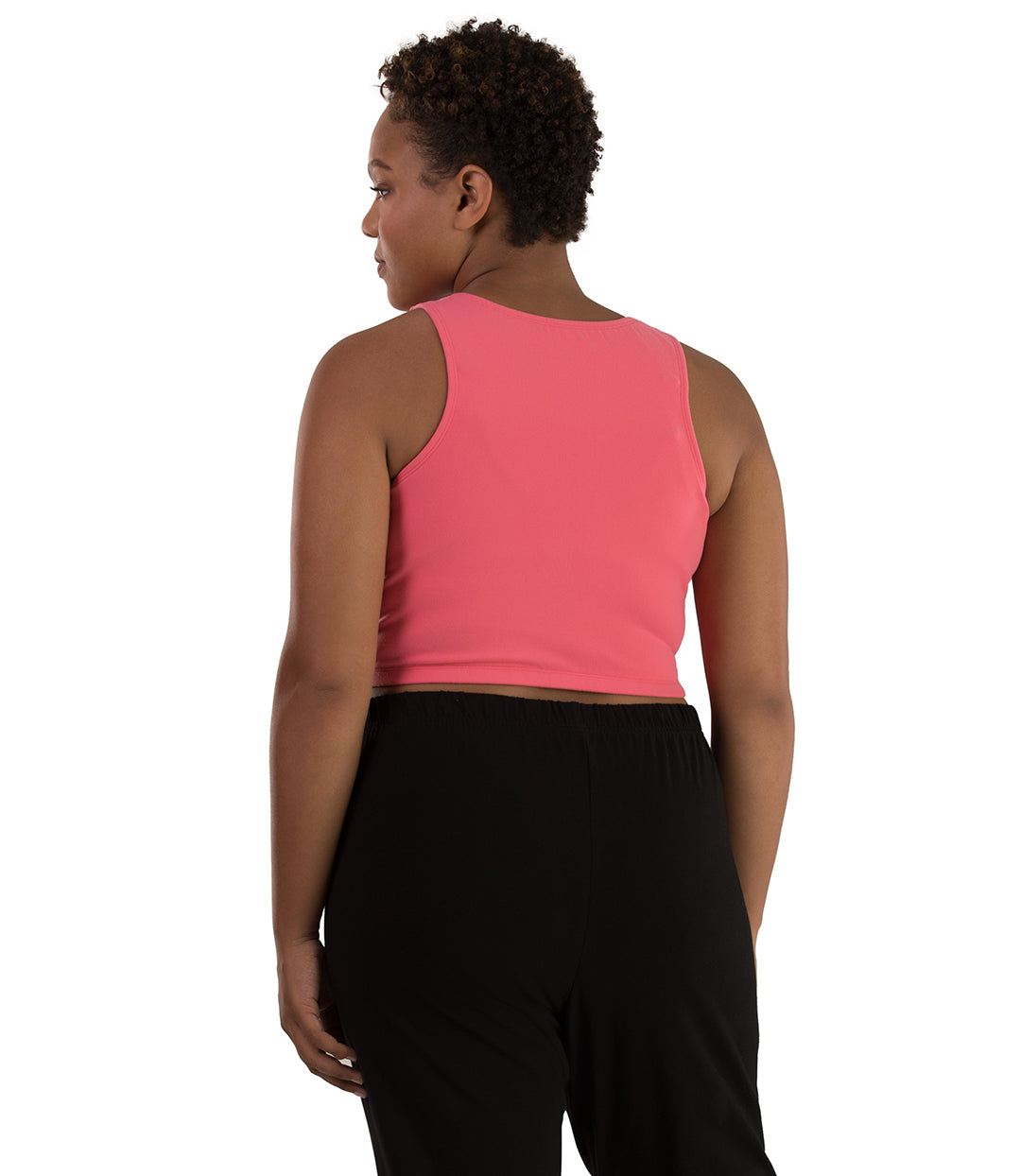 Supplex Long-Line V-Neck Bra Top-Shop by Activity-Osheka, Inc-XL-Orchid Pink-JunoActive